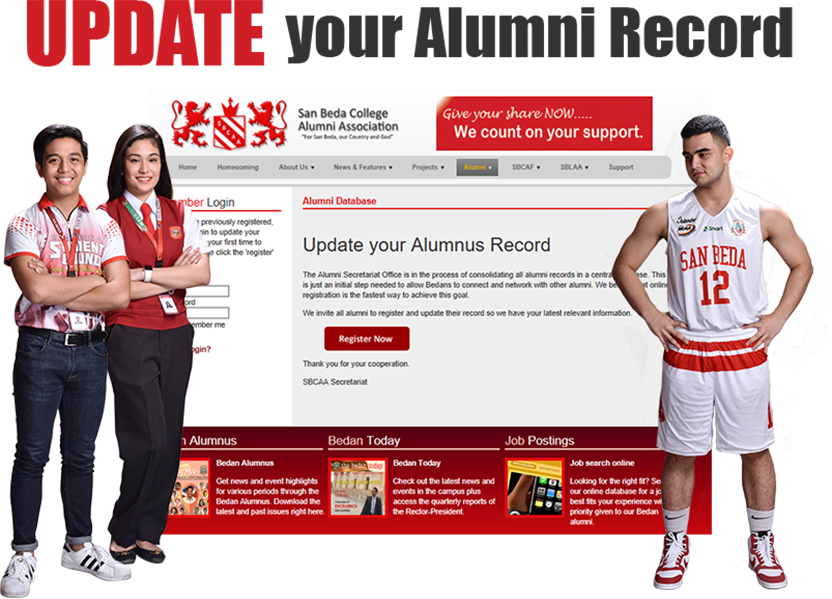 Update your Alumni Record
